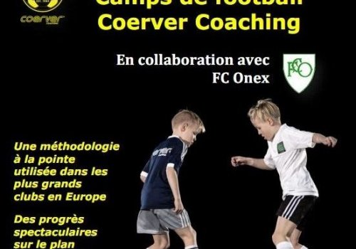 Camp de football Coerver Coaching - FC Onex